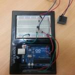 Cicuito basico para el control de 1 relay